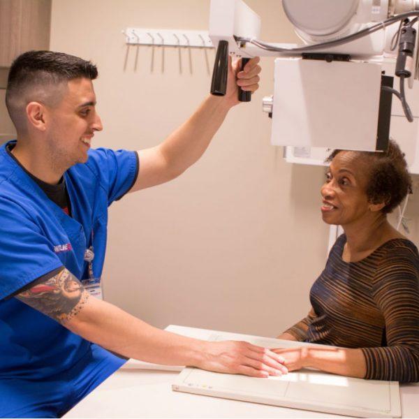 Doctor Checking Senior